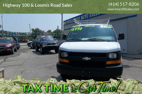 2005 Chevrolet Express Cargo for sale at Highway 100 & Loomis Road Sales in Franklin WI
