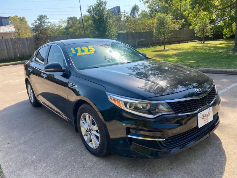 2016 Kia Optima for sale at B & M Car Co in Conroe TX