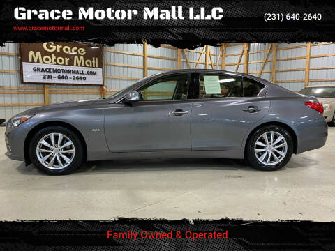 2016 Infiniti Q50 for sale at Grace Motor Mall LLC in Traverse City MI