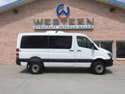 2017 Mercedes-Benz Sprinter 4x4 for sale at Western Specialty Vehicle Sales in Braidwood IL