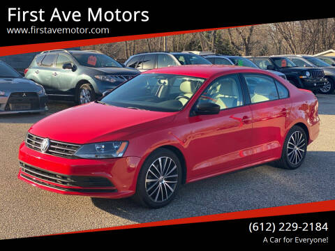 2015 Volkswagen Jetta for sale at First Ave Motors in Shakopee MN