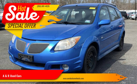 2007 Pontiac Vibe for sale at A & R Used Cars in Clayton NJ