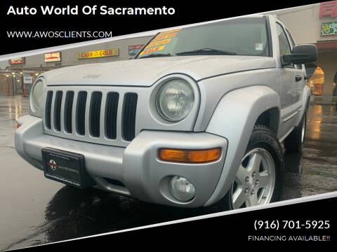 2004 Jeep Liberty for sale at Auto World of Sacramento Stockton Blvd in Sacramento CA