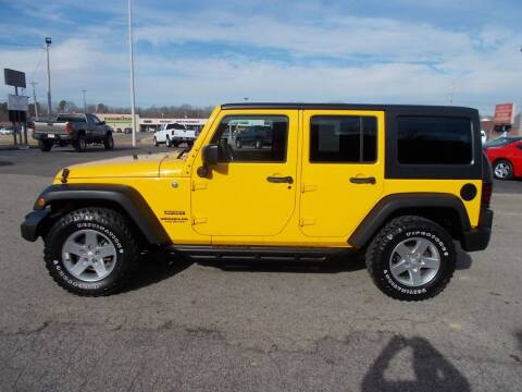2015 Jeep Wrangler Unlimited for sale at West TN Automotive in Dresden TN