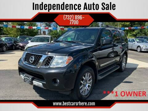 2010 Nissan Pathfinder for sale at Independence Auto Sale in Bordentown NJ