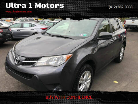 2015 Toyota RAV4 for sale at Ultra 1 Motors in Pittsburgh PA