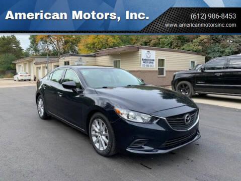 2015 Mazda MAZDA6 for sale at American Motors, Inc. in Farmington MN