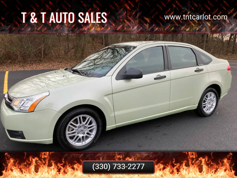 2010 Ford Focus for sale at T & T Auto Sales in Akron OH