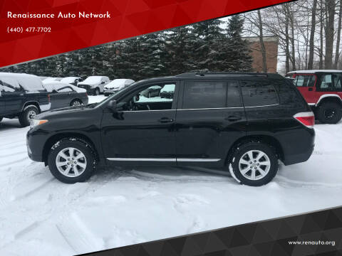 2011 Toyota Highlander for sale at Renaissance Auto Network in Warrensville Heights OH