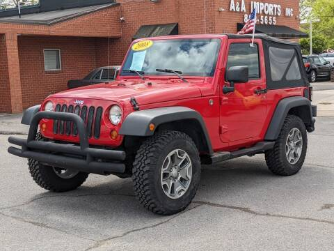 2008 Jeep Wrangler for sale at A & A IMPORTS OF TN in Madison TN