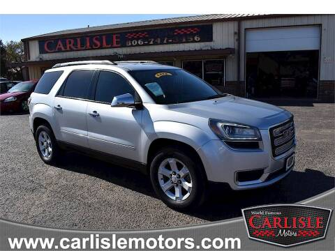 2013 GMC Acadia for sale at Carlisle Motors in Lubbock TX