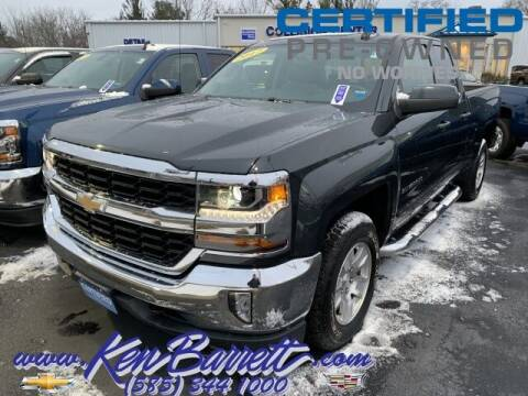2017 Chevrolet Silverado 1500 for sale at KEN BARRETT CHEVROLET CADILLAC in Batavia NY