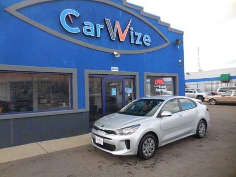 2019 Kia Rio for sale at Carwize in Detroit MI