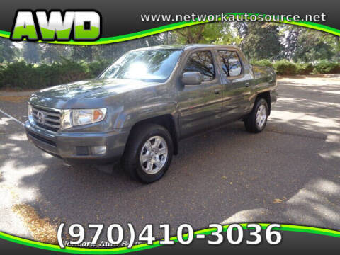 2013 Honda Ridgeline for sale at Network Auto Source in Loveland CO