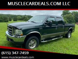 2002 Ford F-250 Super Duty for sale at MUSCLECARDEALS.COM LLC in White Bluff TN