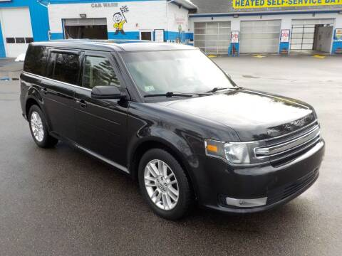 2014 Ford Flex for sale at RTE 123 Village Auto Sales Inc. in Attleboro MA