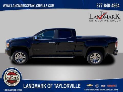 2015 GMC Canyon for sale at LANDMARK OF TAYLORVILLE in Taylorville IL
