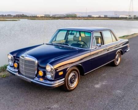 1972 Mercedes-Benz 280-Class for sale at Classic Car Deals in Cadillac MI
