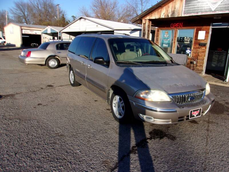 2002 Ford Windstar for sale at LEE AUTO SALES in McAlester OK