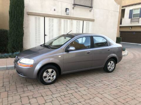 2006 Chevrolet Aveo for sale at California Motor Cars in Covina CA