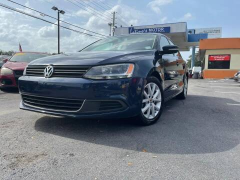 2013 Volkswagen Jetta for sale at LATINOS MOTOR OF ORLANDO in Orlando FL