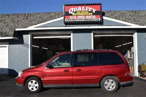 2005 Ford Freestar for sale at Quality Pre-Owned Automotive in Cuba MO
