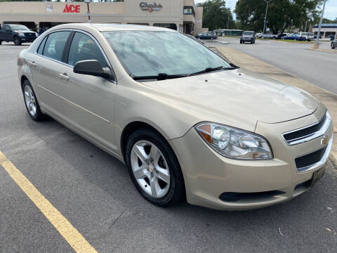 2010 Chevrolet Malibu for sale at GOLD COAST IMPORT OUTLET in Saint Simons Island GA
