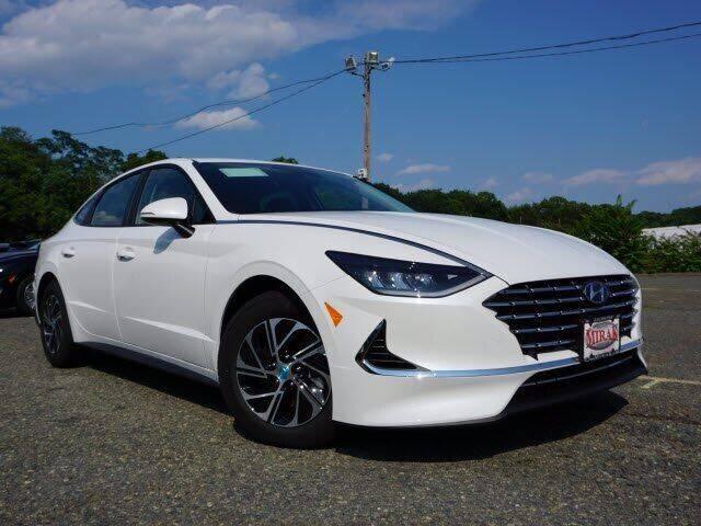 2021 Hyundai Sonata Hybrid for sale at Mirak Hyundai in Arlington MA