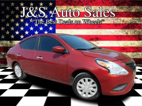 2018 Nissan Versa for sale at J & S Auto Sales in Clarksville TN