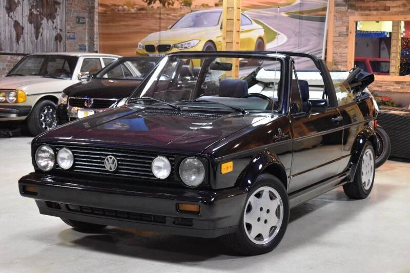 1991 Volkswagen Cabriolet for sale at Chicago Cars US in Summit IL