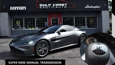 2021 Aston Martin Vantage for sale at Gulf Coast Exotic Auto in Biloxi MS