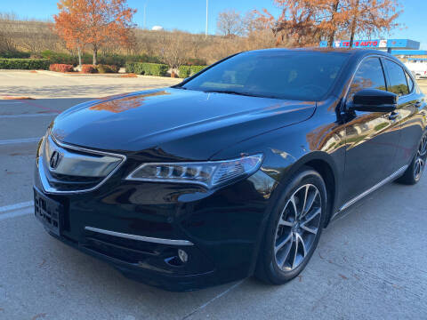 2015 Acura TLX for sale at Ted's Auto Corporation in Richardson TX
