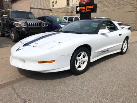 1994 Pontiac Firebird for sale at STEEL TOWN PRE OWNED AUTO SALES in Weirton WV