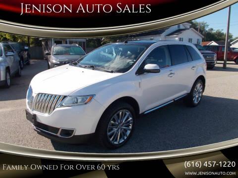 2013 Lincoln MKX for sale at Jenison Auto Sales in Jenison MI