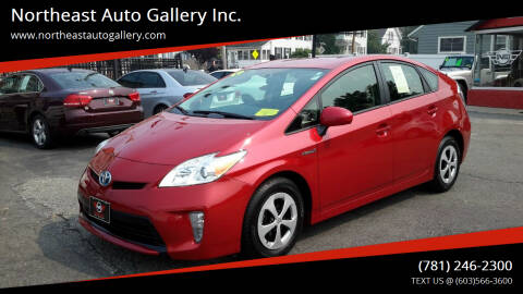 2015 Toyota Prius for sale at Northeast Auto Gallery Inc. in Wakefield MA