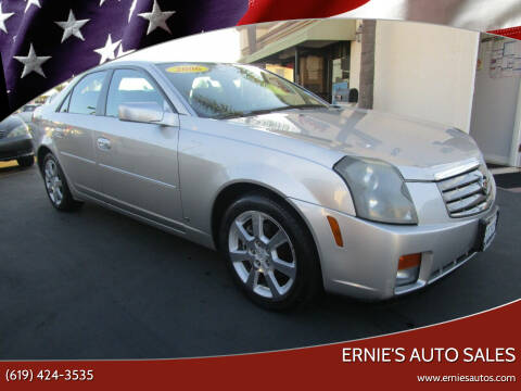 2006 Cadillac CTS for sale at Ernie's Auto Sales in Chula Vista CA