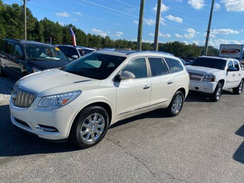 2013 Buick Enclave for sale at Billy Ballew Motorsports in Dawsonville GA