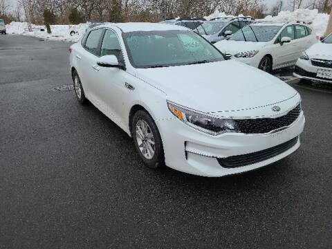 2017 Kia Optima for sale at BETTER BUYS AUTO INC in East Windsor CT