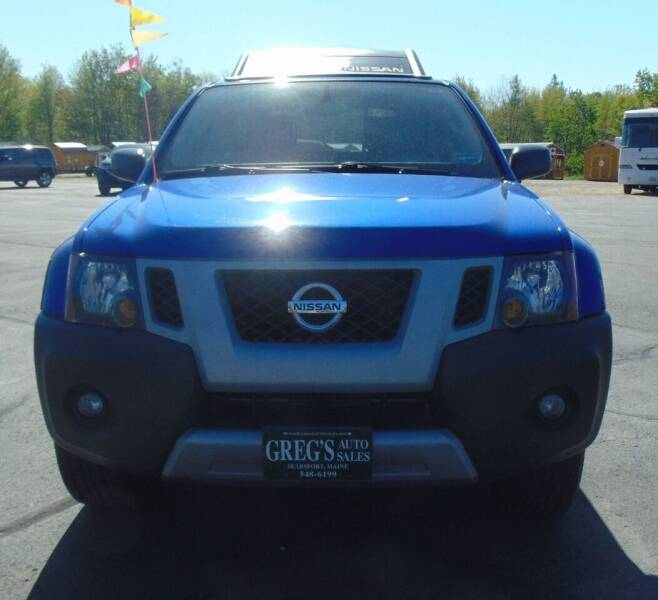 2012 Nissan Xterra for sale at Greg's Auto Sales in Searsport ME