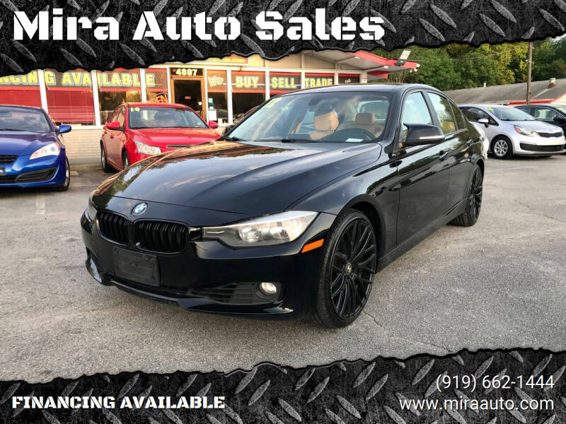2012 BMW 3 Series for sale at Mira Auto Sales in Raleigh NC
