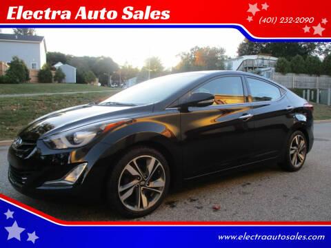 2014 Hyundai Elantra for sale at Electra Auto Sales in Johnston RI