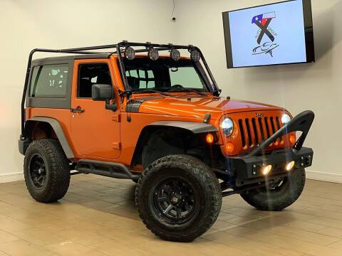 2011 Jeep Wrangler for sale at TX Auto Group in Houston TX