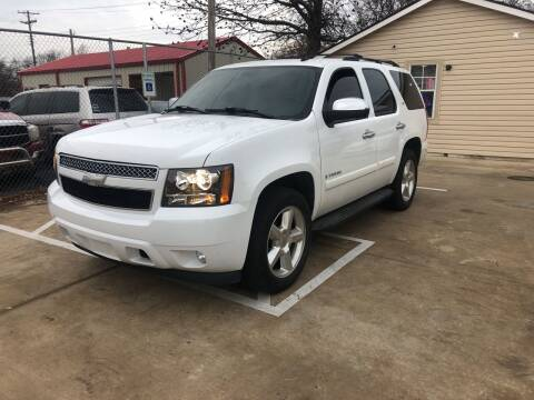 2007 Chevrolet Tahoe for sale at D & M Vehicle LLC in Oklahoma City OK