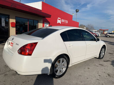 2004 Nissan Maxima for sale at New To You Motors in Tulsa OK