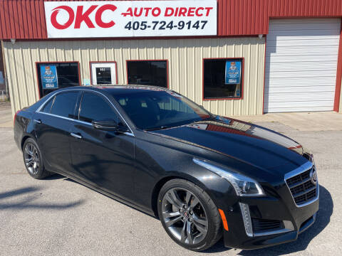 2014 Cadillac CTS for sale at OKC Auto Direct in Oklahoma City OK