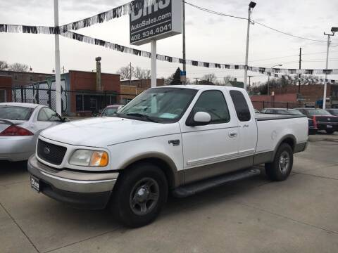 2002 Ford F-150 for sale at Dino Auto Sales in Omaha NE