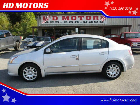 2010 Nissan Sentra for sale at HD MOTORS in Kingsport TN