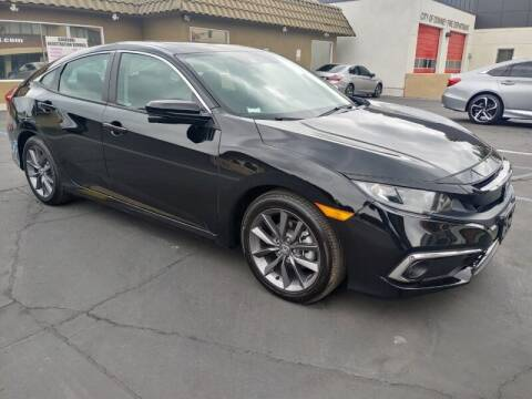 2021 Honda Civic for sale at Ournextcar/Ramirez Auto Sales in Downey CA