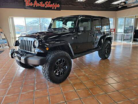 2018 Jeep Wrangler JK Unlimited for sale at The Auto Shoppe in Springfield MO