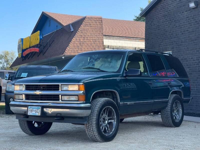 1997 Chevrolet Tahoe for sale at Big Man Motors in Farmington MN